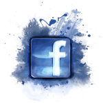 Facebook logo Addict ink tattoo