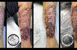 tatouage biomecanique