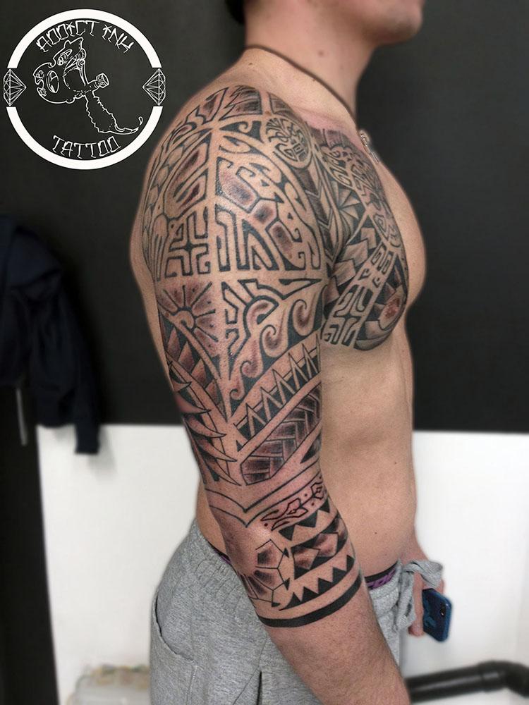 Tatouage Bras Epaule Pectoraux Pret A Taux Zero