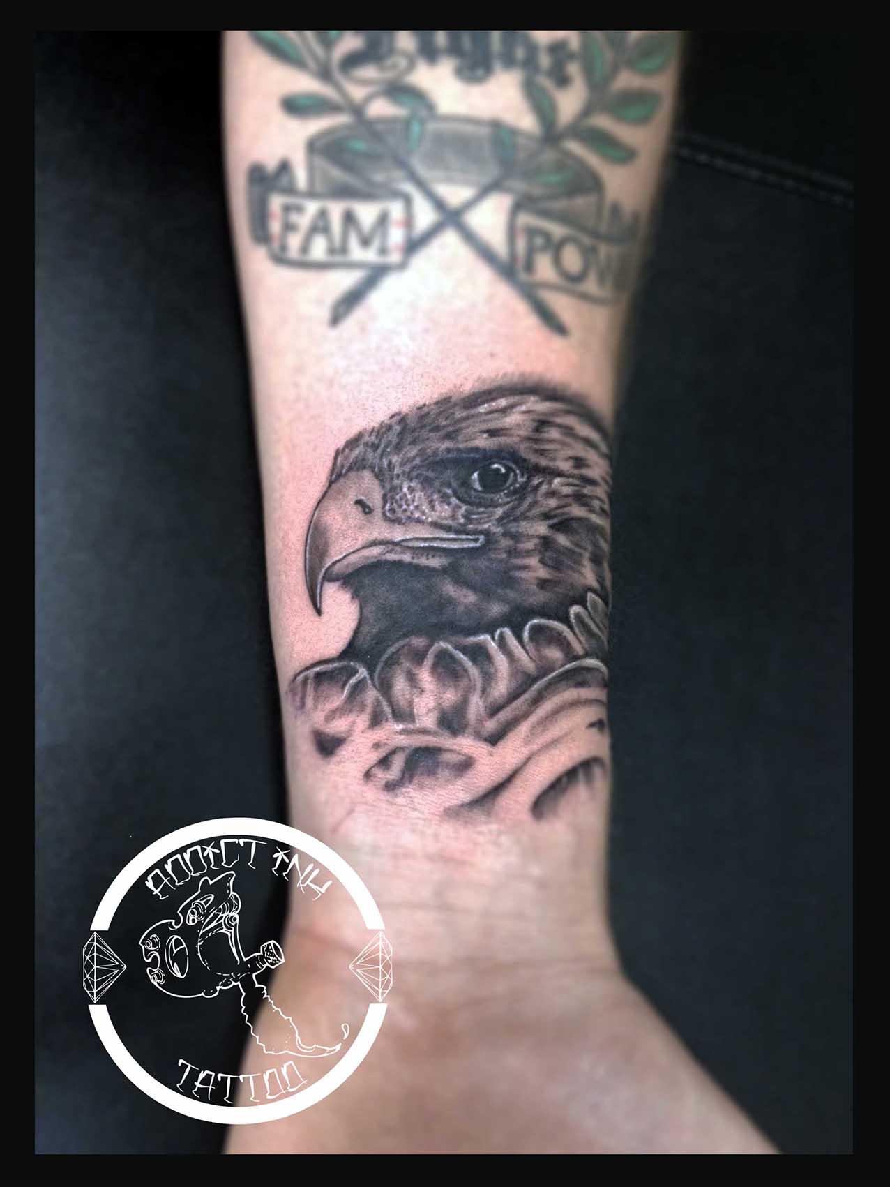 3d tatouage hibou tete de mort galerie tatouage - Salon du tattoo nice ...