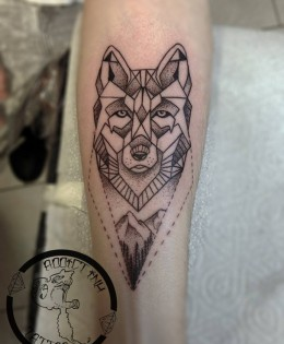 Portfolio tatouage addict ink tattoo nice salon de tatouage - Tatouage geometrique animaux ...